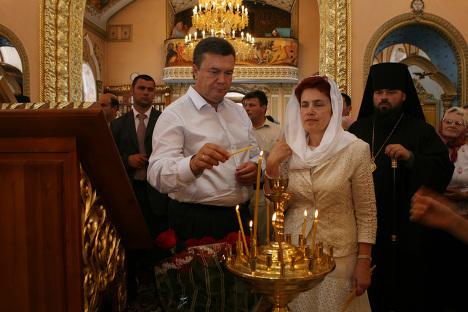 Семья нового президента Украины