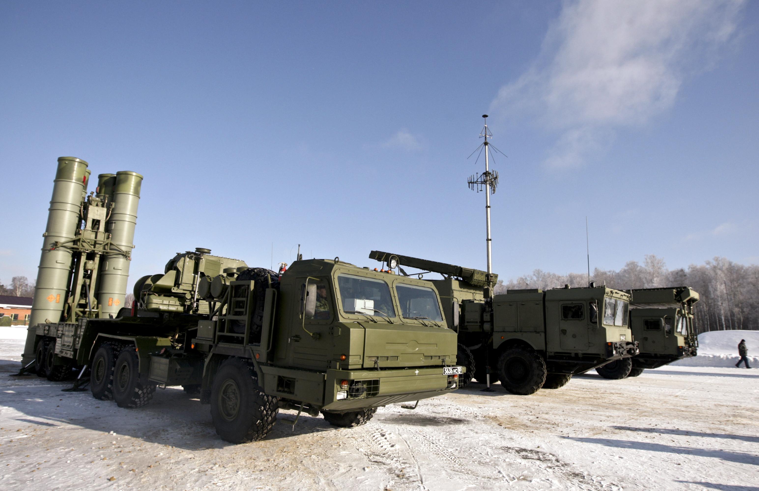 Зенитная ракетная система С-400. Архив