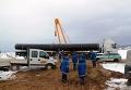 Строительство газопровода-отвода от Nord Stream на территории Германии
