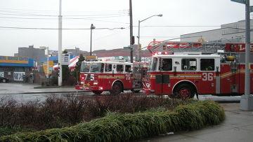 Пожарные команды в США. Архивное фото