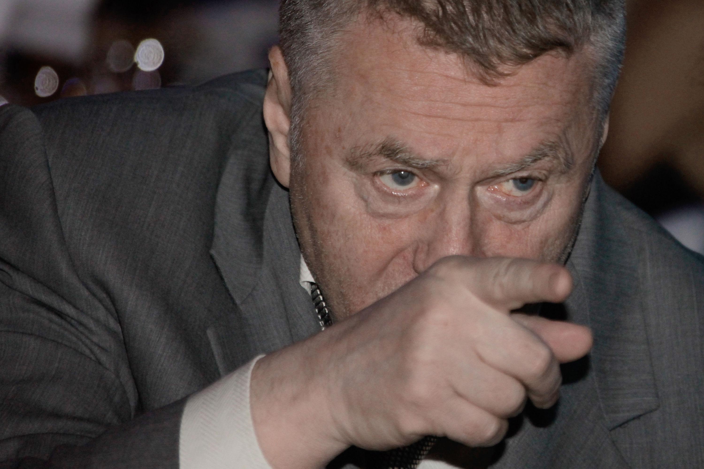 Вице-спикер Госдумы, лидер ЛДПР Владимир Жириновский. Архив