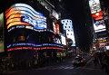 Площадь Тайм-сквер и улица Бродвей в Нью-Йорке