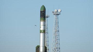 Запуск ракеты-носителя РС-20 Днепр, архивное фото