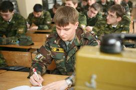 Военная кафедра СибГУТИ. Архивное фото