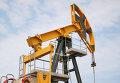 Штанговый насос на нефтяной скважине