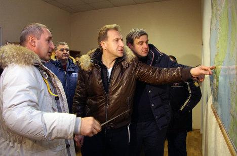 Визит Первого заместителя Председателя Правительства РФ Игоря Шувалова в Приморье.