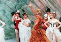 Сцена из спектакля Московского театра оперетты Фиалка Монмартра