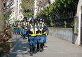 Усиленные наряды полиции в районе посольства РФ в Токио