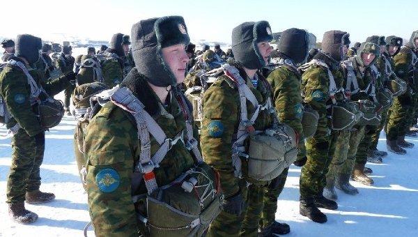 Учение военно-транспортной авиации и бойцов 98-й гвардейской воздушно-десантной дивизии
