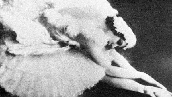 Первая исполнительница «Умирающего лебедя» балерина Анна Павлова