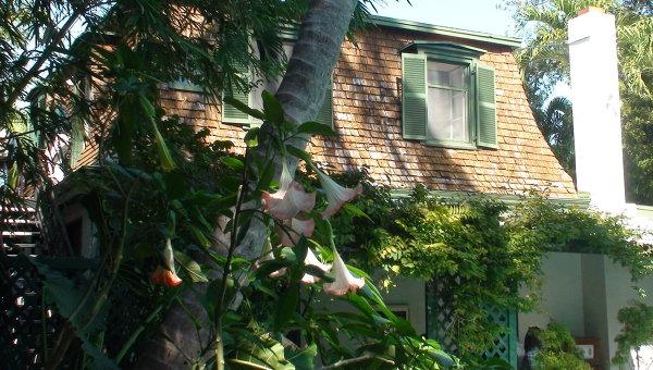 Дом-музей Хемингуэя на острове Ки-Уэст