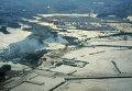 Последствия землетрясения в префектуре Фукусима в Японии. Фото от 11 марта 2011 года