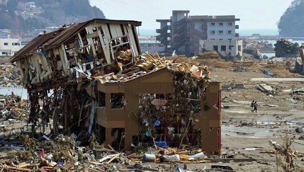Последствия землетрясения и цунами в Японии
