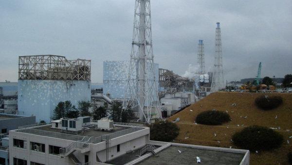 Реакторы АЭС Фукусима-1