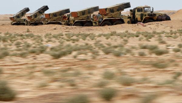 Ливийские военные ракеты