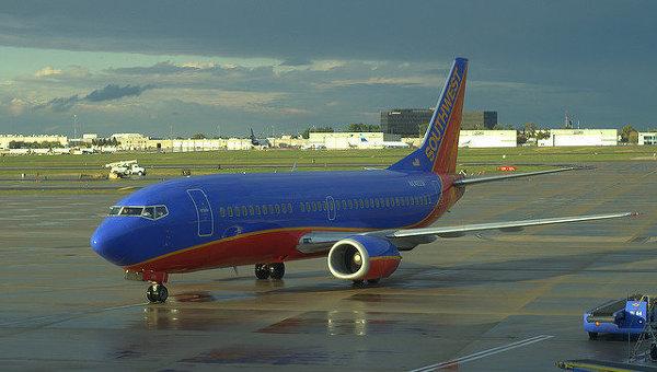 Самолет компании Southwest Airlines. Архивное фото