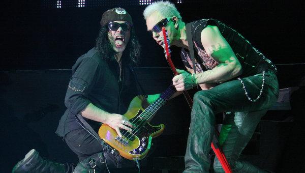 Концерт группы Scorpions. Архив