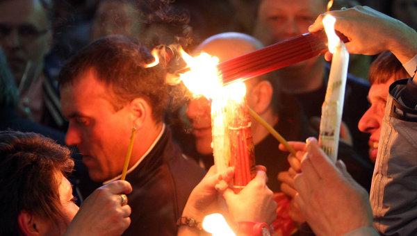 Встреча Благодатного огня