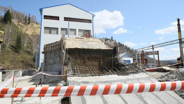 Восстановительные работы на шахте Распадская