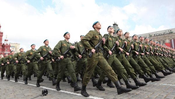 Военный парад, посвященный 66-летию Победы в Великой Отечественной войне