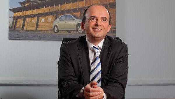 Генеральный директор Renault в России Бруно Анселен