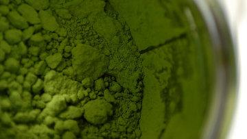 Порошок зеленого чая. Архив