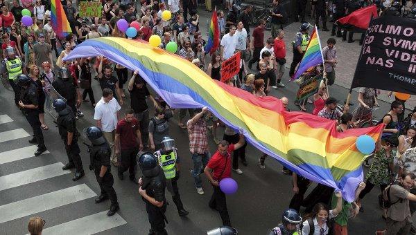 Гей-парад в Загребе