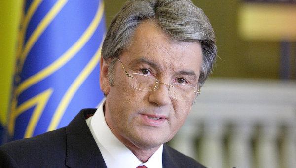 Президент Украины Виктор Ющенко. Архивное фото.