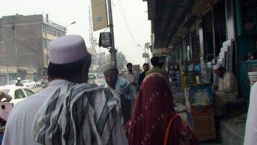 Улица в городе Джелалабад в Афганистане. Архивное фото