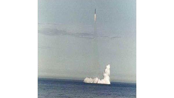 Баллистическая ракета Синева. Архив