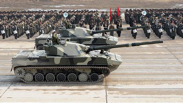Самоходные противотанковые пушки Спрут