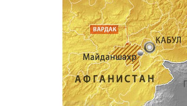 Вертолет НАТО упал в афганской провинции Вардак