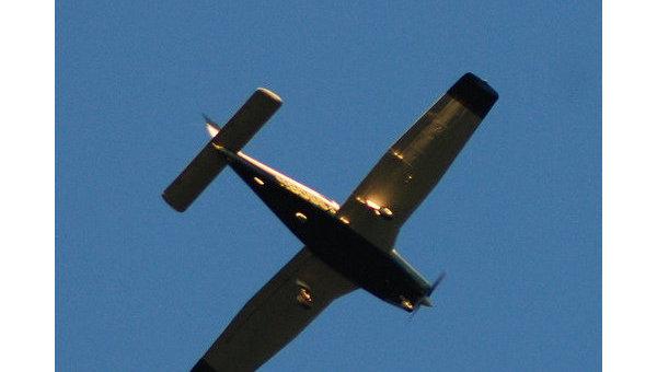 ВСША наавтомобильную стоянку рухнул легкомоторный самолёт