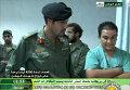 Ливийское ТВ продемонстрировало видеозапись, на которой сын Муамара Каддафи Хамис посещает раненных при авианалете
