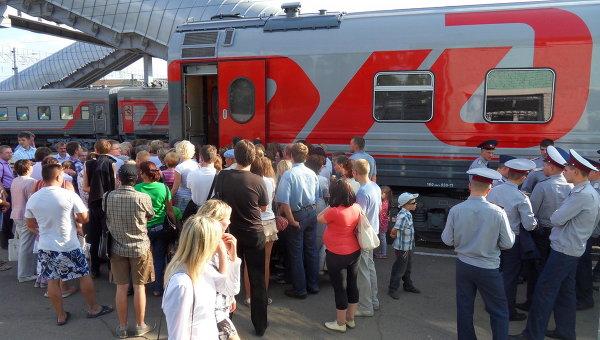 Передвижной выставочно-лекционный поезд-комплекс РЖД «Вчера, сегодня и завтра» в Вологде