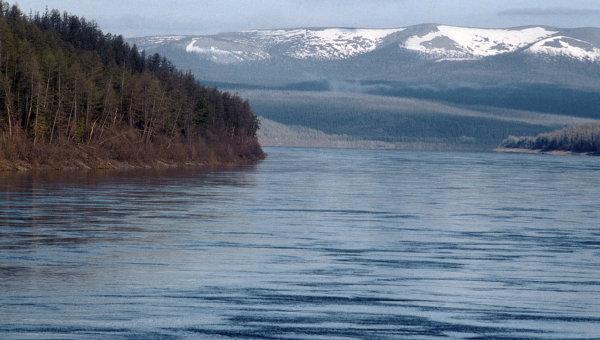 Река Енисей. Архив