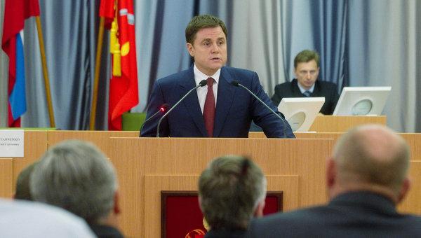 Утверждение кандидатуры губернатора Тульской области