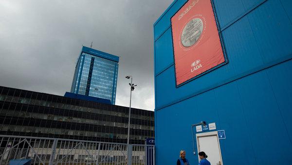 Работа завода ОАО АвтоВАЗ в Тольятти. Архивное фото