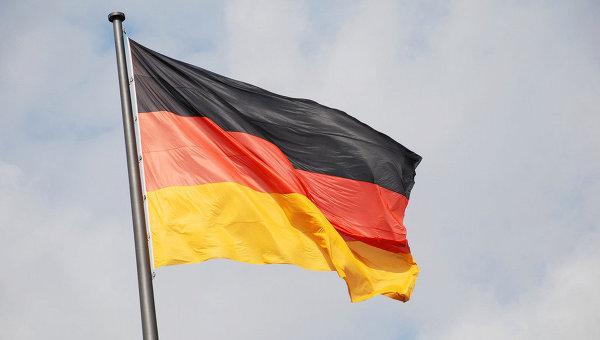 Флаг Германии. Архивное фото