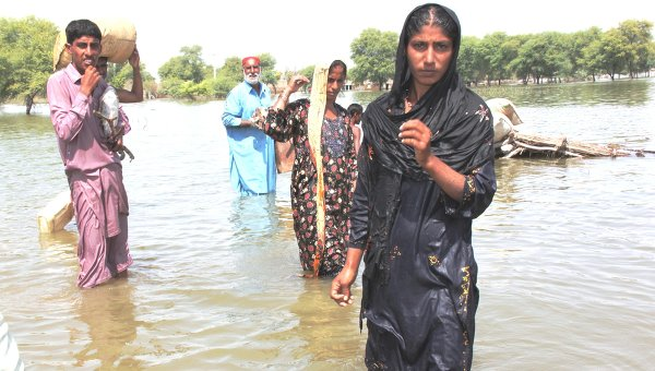 ВПакистане из-за наводнения погибли 30 человек
