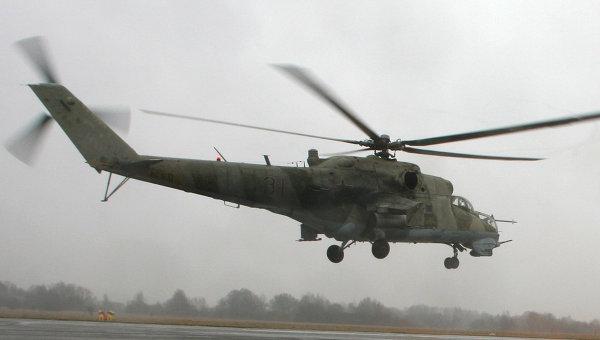Вертолет МИ 24 ВП