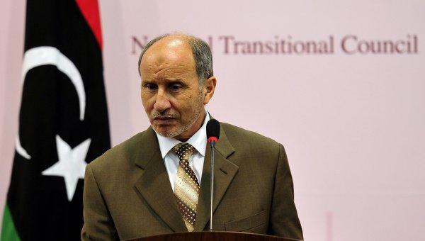 Глава Переходного национального совета (ПНС) Ливии Мустафа Абдель Джалиль