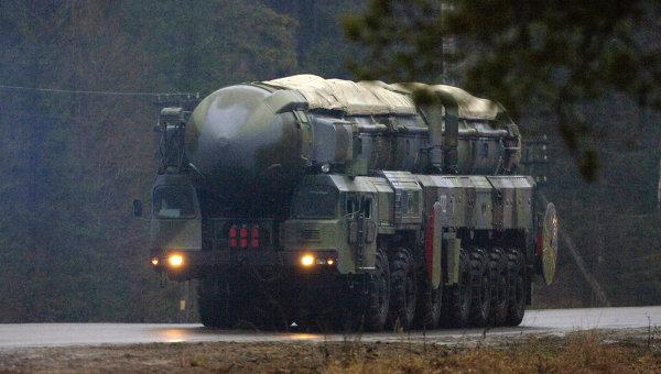 РС-12 Тополь. Архивное фото