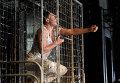 Генеральная репетиция спектакля Мастер и Маргарита в постановке венгерского режиссера Яноша Саса на сцене МХТ имени А.П. Чехова