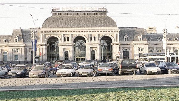 Павелецкий вокзал в Москве. Архив