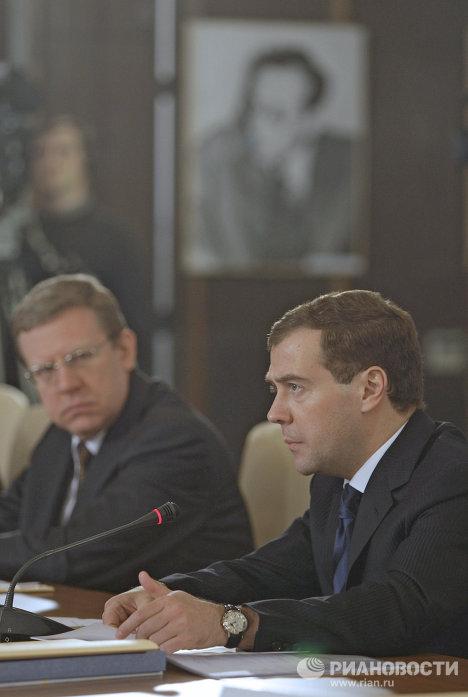 Дмитрий Медведев посетил институт ядерных исследований в Дубне
