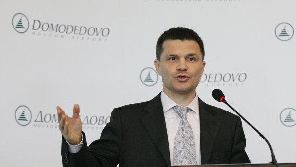 Совладелец аэропорта Домодедово Дмитрий Каменщик. Архивное фото