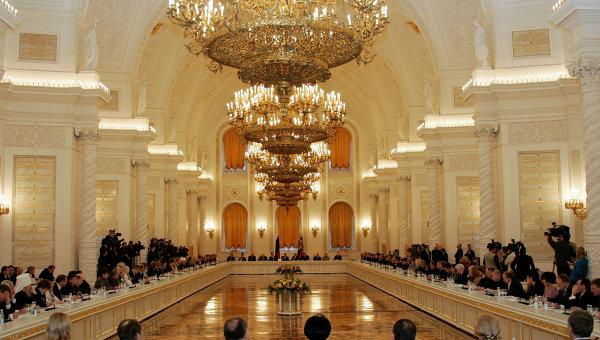 Заседание Общественной палаты РФ в Кремле. Архивное фото