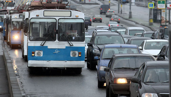 Троллейбусы в Москве. Архив