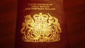 Паспорт британского подданого. Архивное фото